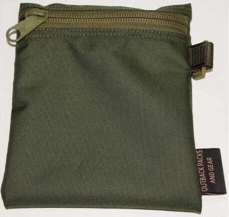 Fire Kit Pouch-D - Olive Green - Coin purse