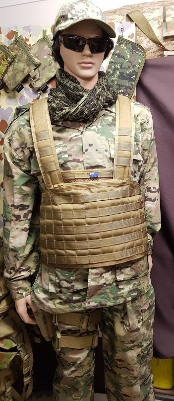 Military camouflage - Military police